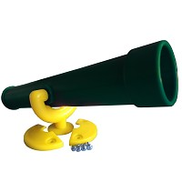 Telescope telescope standard green / yellow