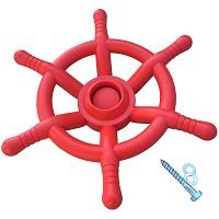 Piratenlenkrad Ø 35 cm rot