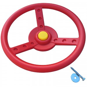 Steering wheel Ø 33 cm red