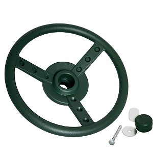 Steering wheel Ø 33 cm green