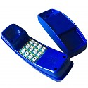 Blue plastic children's phone