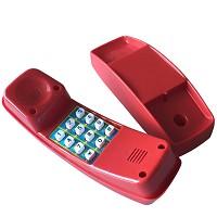 Red plastic children's phone
