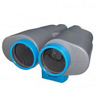 Binoculars telescope toy gray-turquoise