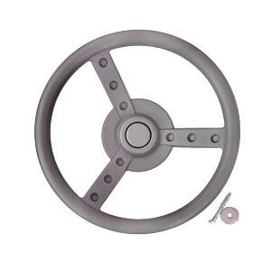 Steering wheel Ø 33 cm gray