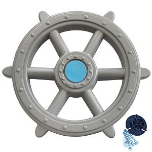 Steering wheel ship - pirate steering wheel Ø 48 cm gray