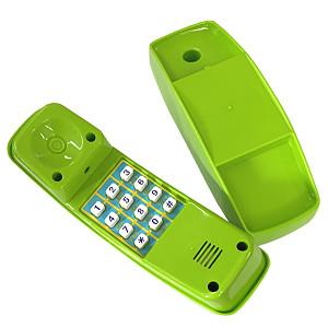 Apple green plastic children's phone