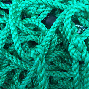 Climbing net H: 2.00m x W: 1.50m - green