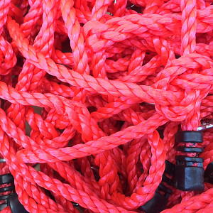 Climbing net H: 2.00m x W: 1.50m - red