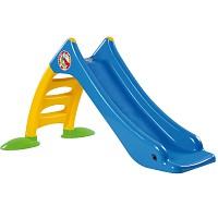 Children's slide Toddler slide with water connection Water slide 120 cm blue