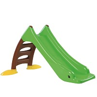 Children's slide Toddler slide with water connection Water slide 120 cm green