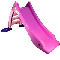 Children's slide Toddler slide with water connection Water slide 120 cm pink