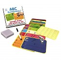 Learning game letters wipe-and-away learning set for school enrollment children gift learning