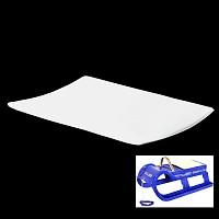 EKO-sledge seat cushion - 10mm to Snow-Star 80, white