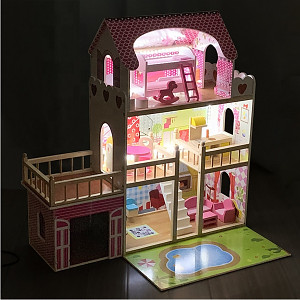 Dollhouse with LED