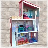 XXL Wooden Dollhouse DREAM VILLA