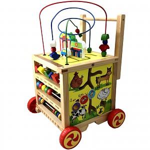 Baby Walker baby walker motor skills toy Baby walker wooden motor skills cubes auf