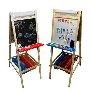 Stand board painting board school board chalk and whiteboard for children