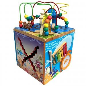 XXL motor skills cube Motor skills loop Motor skills board Labyrinth Toddler toy