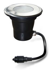 Easy Connect® LED Einbaulicht für Holz Edelstahl Ø 11cm