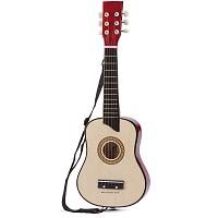 Gitarre de luxe Natur, Spielzeuggitarre für Kinder
