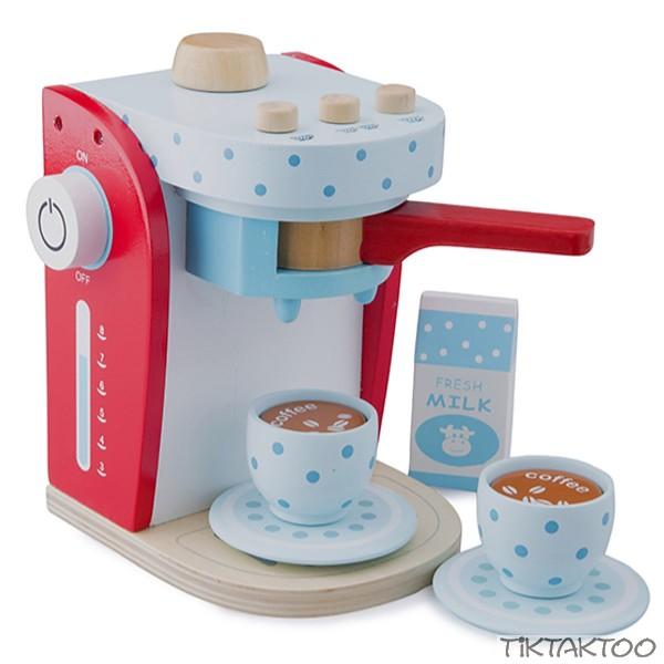 kaffeemaschine holz spielzeug 9 teilig kaufladen