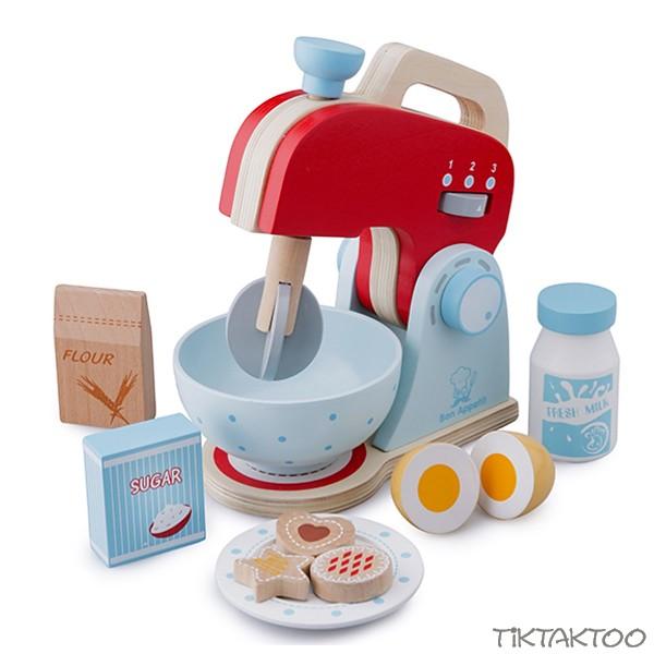 Standmixer Kinder Aus Holz Mixer Kinderkuche Spielzeug Holzmixer