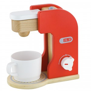 Kaffeemaschine aus Holz