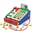 Children's wooden cash register Wooden cash register for grocery store Children's wooden cash register shop
