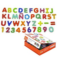 77 Wooden Letters ABC Letters Magnet Wooden Board Magnetic Letters Educational Game