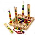 Steckspiel Formen und Farbensortierung