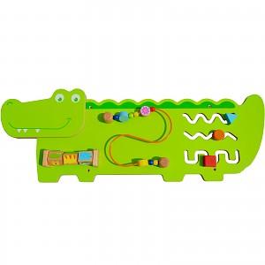 Crocodile wall game wall game board