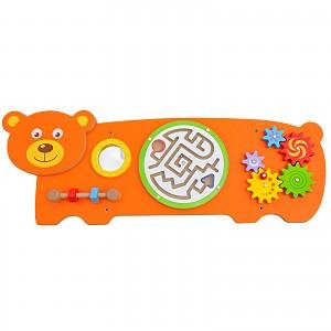 Bear wall game wall play board