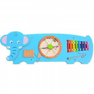 Elephant wall game wall play board