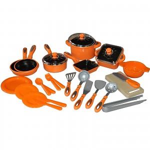 28 pcs children's cookware, dolls dishes, pot set, dolls kitchen, dolls pots