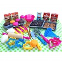 Baking set 50 pieces cake bake cookies for children children's kitchen play kitchen