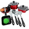 Cooking set pots and pan with accessories, 13 pieces