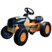 Child Tractor Treadmill Orange