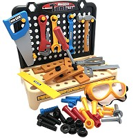 Table-workbench with 54 accessory parts