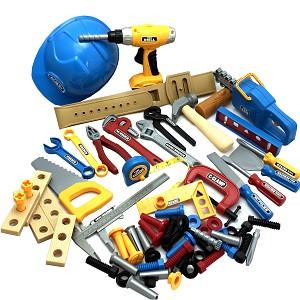 70-piece tool set cordless screwdriver chainsaw hammer screwdriver