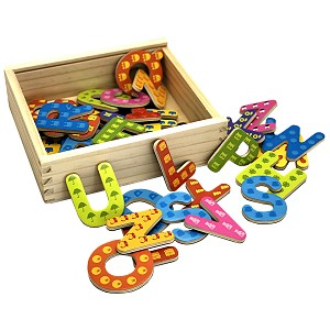 Learn to read and write magnetic letters 37 pieces