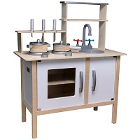 Wooden children's kitchen white play kitchen wooden kitchen