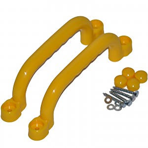 Handles 2 pieces including screws yellow