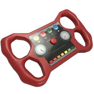 Steering wheel / sports steering wheel - red