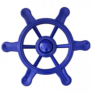 Pirate steering wheel blue