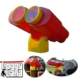 Binoculars telescope toys for tree house, play tower, playhouse, climbing tower