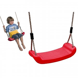 Moulded Swing Seat, red
