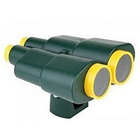 Binoculars telescope toy green