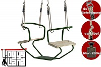 Metal Duo Swing Seat