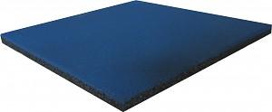 Fall protection mat rubber mat blue 25 mm