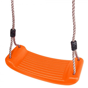 Plastic swing seat - orange